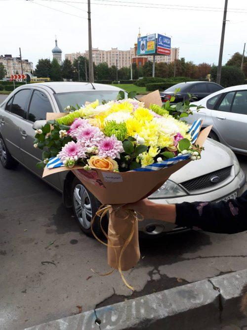 Букет_На_душе весна_buketik.kharkov.ua