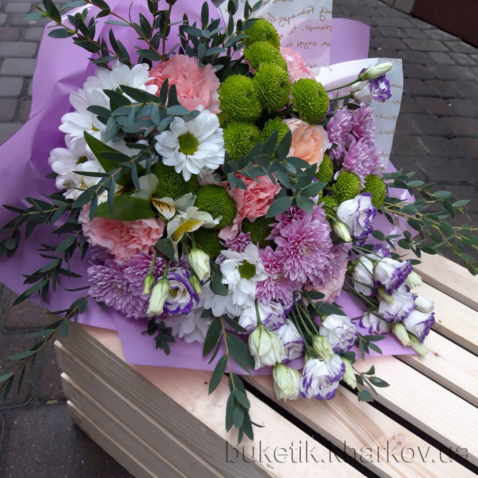 Доставка цветов Харьков