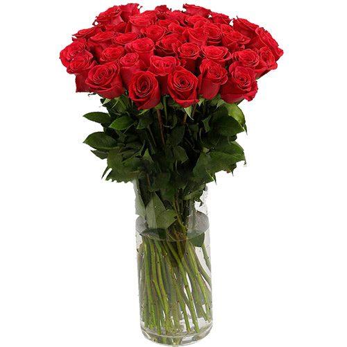 Премиум букет импортных роз