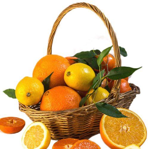 Корзина витаминов цитрусы